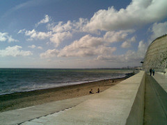 The Undercliff walk