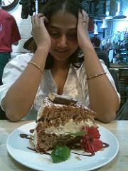 Neela and cake