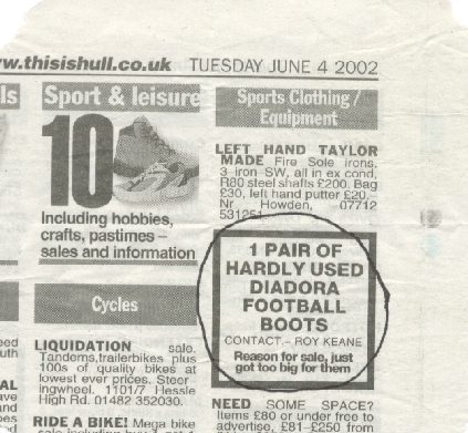Advert from Hull Daily Mail
