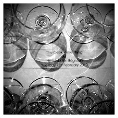 8 glasses for tasting from