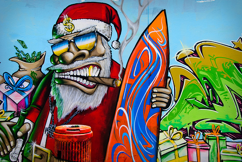 Graf Santa at Bondhi Bay