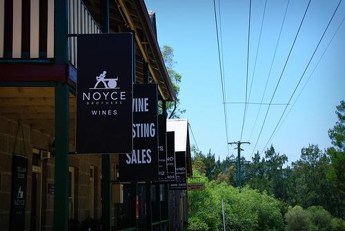 Wine sales signs