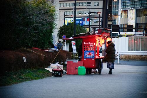 Shinjuku food stall