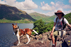 One man and his dog: at Wastwater
