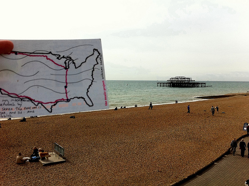 Snailr and the West Pier