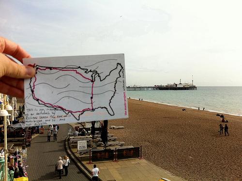 Snailr and Brighton Pier