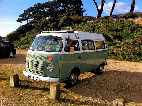 Meet Daisy, our rented campervan