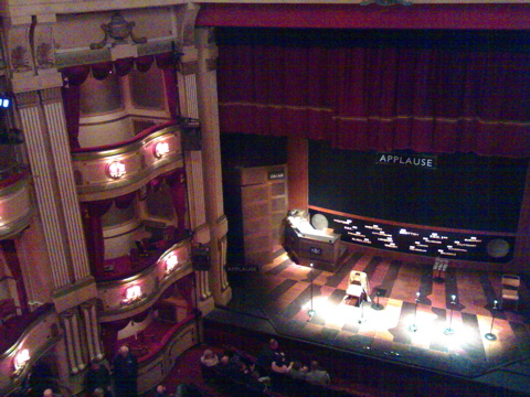 Inside Theatre Royal, Brighton, for Round The Horne 2