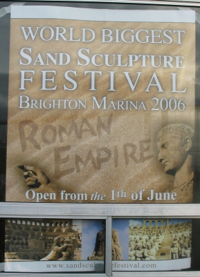 Poster for the Sand Sculpture Festival 2006